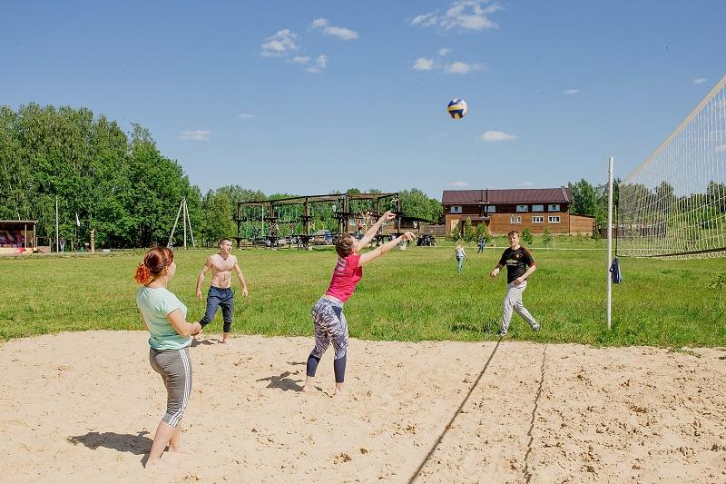 Волейбол на базе отдыха